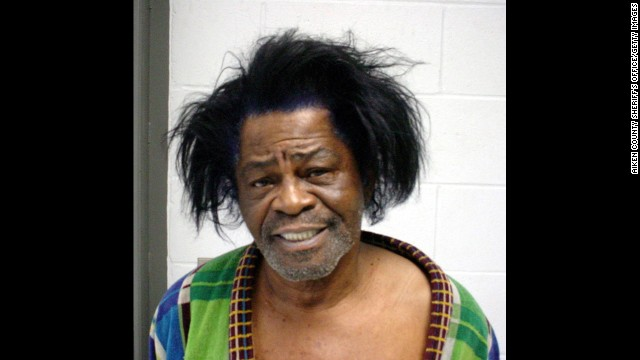 Singer James Brown was arrested in Aiken, South Carolina, on January 28, 2004 and charged with Criminal Domestic Violence.