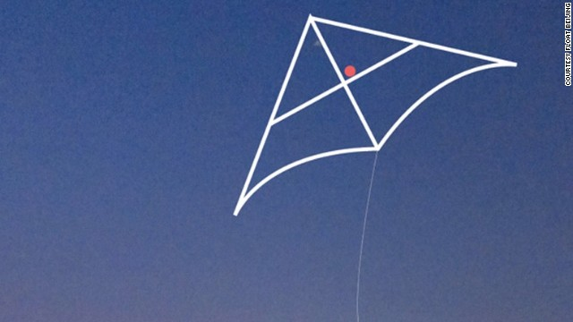 Kite String Lights : Kite detects pollution, shines light on Beijing smog - CNN.com