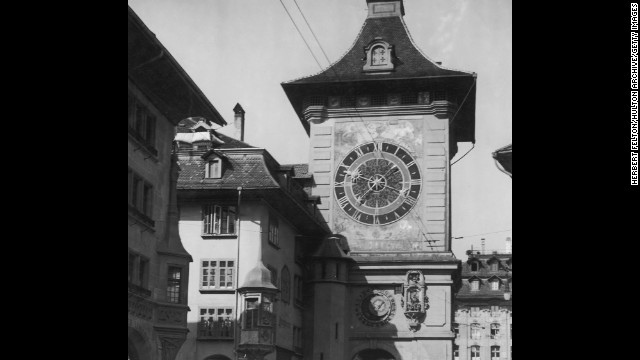 The Zytglogge clock tower in Bern, Switzerland, dates back to the early 13th century and the clock itself to 1530.