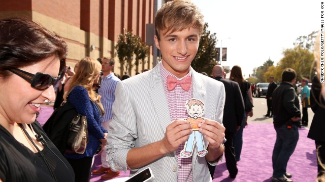 "Lucas Cruikshank is the star of Nickelodeon's hit series ""Fred."" He came out via a YouTube video in August 2013."