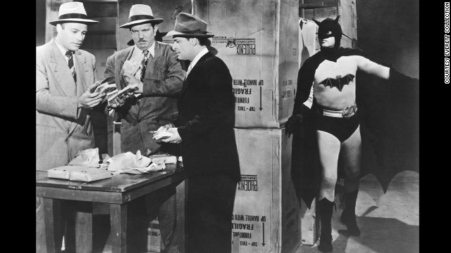 "Robert Lowery became the second person to portray the character in the 1949 movie serial, ""Batman and Robin."" Although he never played the character in another movie, he did guest star on an episode of ""The Adventures of Superman."" This was the first time a Batman actor and a Superman actor shared the screen."