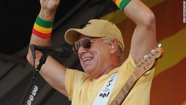 An over-40 victim of fate: Singer Jimmy Buffett qualifies through a technicality, though he's still 200 years too late.