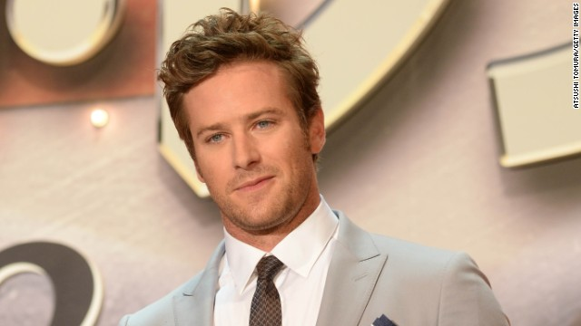 "Armie Hammer starred in ""Lone Ranger"" so he has action film experience. And he is adorable."
