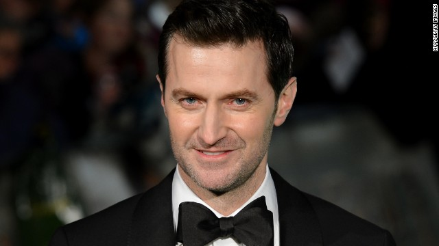 British actor Richard Armitage looks darn spiffy in a tux and that's half the battle in playing Batman.