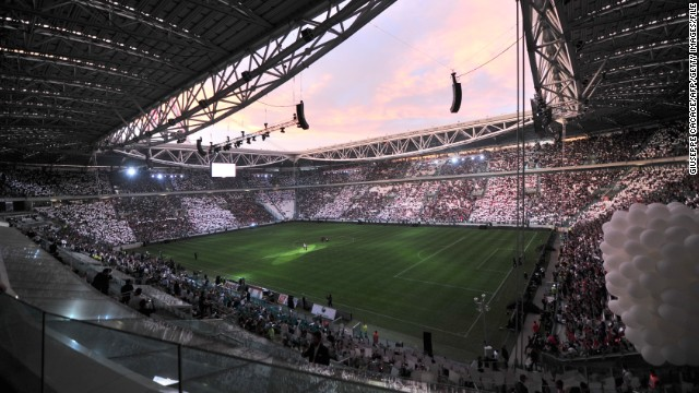 Serie A champions Juventus are the only team in Italy's top division to own its stadium. The Juventus Stadium was opened in 2011 and holds 41,000 spectators.