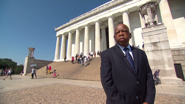 Civil rights icon, congressman commemorates Voting Rights Act
