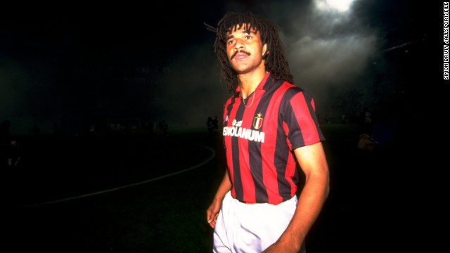 In the late 1980s/early 1990s Italy's top division was the envy of the planet. AC Milan boasting some of the game's finest players, including Dutchman Ruud Gullit who was purchased from PSV in 1987 for a then world record fee.