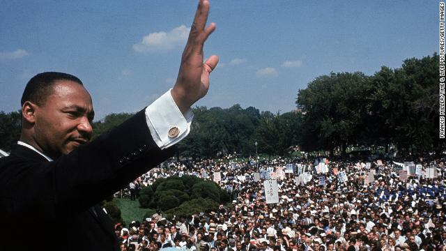 Color photos from 1963 March on Washington