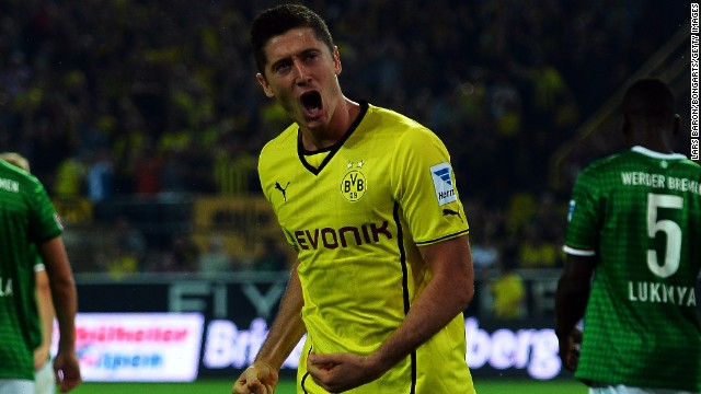 Borussia Dortmund -- champions of Germany in 2011 and 2012 -- lost to Bayern Munich in the European Champions League final in May last year and are set to lose star striker Robert Lewandowski to their rivals at the end of this season. They saw a significant hike in revenue up from $266.4 million to $347.1 million.