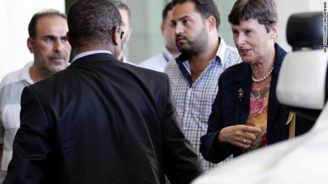 Alta funcionaria de la ONU llega a Siria para investigación de uso de armas químicas