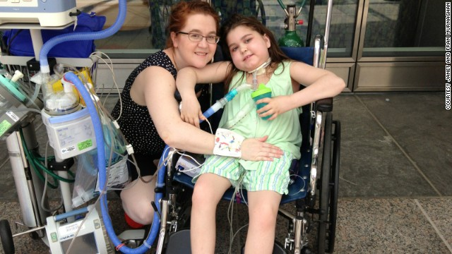 """Sabía que estaba muriendo"", dice niña con doble trasplante de pulmón"
