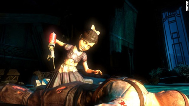 """Bioshock"" was a groundbreaking game and a hit with critics. But some were troubled by the ""Little Sisters,"" mutated versions of young girls that a player may choose to fight and kill."