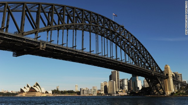 A weekend break in Sydney is relatively cheaper than it was last year -- the city dropped four places on this year's TripAdvisor survey of the world's most expensive holiday cities. Click on to see the full top ten and best value vacation city.