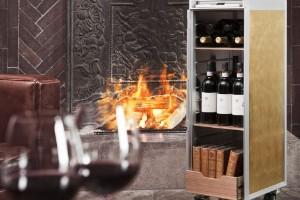 Carrito de vino