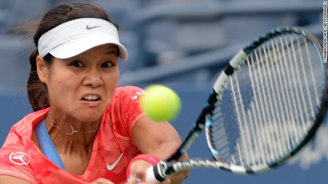 Li Na was fully focused as she downed Belarus' Olga Govortsova 6-2 6-2. The Chinese grand slam winner had a successful build-up to the U.S. Open, reaching the semifinals in Cincinnati and Toronto.