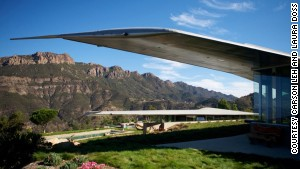 Wing House owner David Hertz compares converting a Boeing 747 into a home to the way \