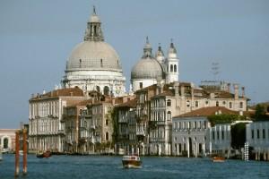 Santa María de la Salud, Venecia, Italia