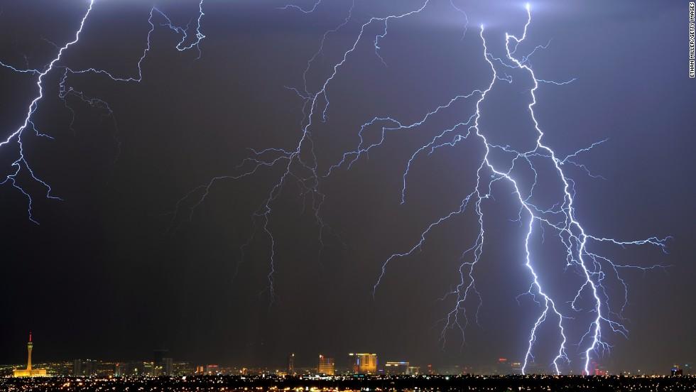 Tormenta eléctrica, Estados Unidos