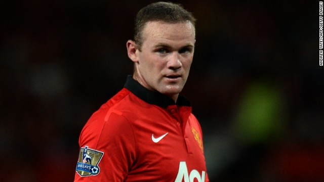 England striker Wayne Rooney joined Manchester United from Everton in 2004.