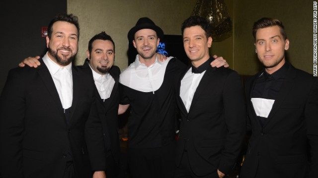 NSync briefly reunited at the 2013 MTV VMAs.