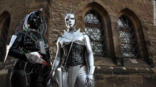 Many of those attending the Wave-Gotik-Treffen music festival in Leipzig, Germany wear elaborate outfits and makeup. The range of style is surprisingly diverse.