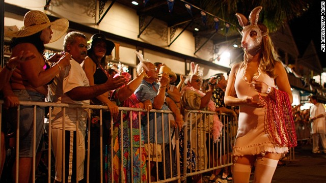Celebrants in Key West, Florida turn Halloween into a 10-day celebration during the annual Fantasy Fest, an epic street party that marks the city's busiest time of year.