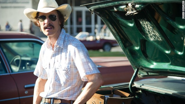 "Outstanding performance by a male actor in a leading role: Matthew McConaughey, ""Dallas Buyers Club"""