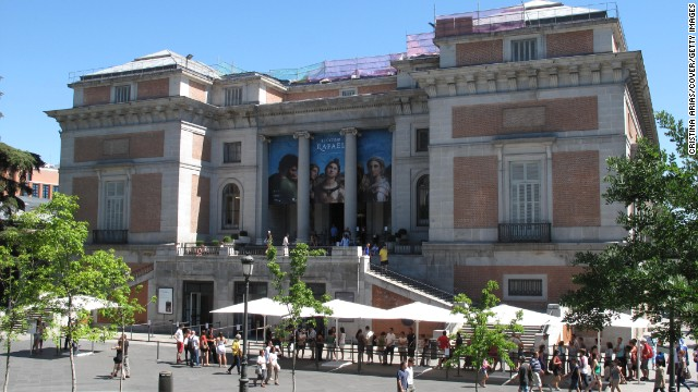 Spain's premier gallery, the Prado is home to some 7,000 art works - although only 1,500 are currently on show. The works of Velazquez and Goya take center stage.