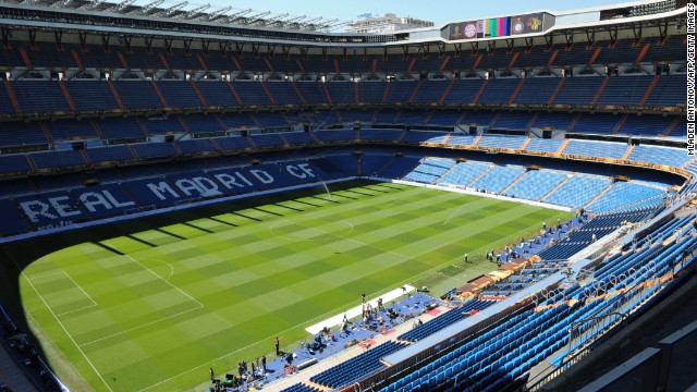 It's fair to say the Bernabeu Stadium is a venue that Gareth Bale will most likely get used to but the imposing structure remains one of the more iconic monuments in the Welshman's new home town.