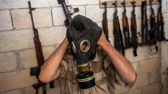 Un enviado de la ONU confirma el uso de agentes químicos en Siria
