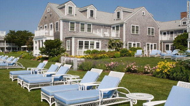 This is one of Nantucket's plushest resorts, on a prime spot on the edge of the harbor, with an expansive waterfront patio and chaise-dotted green lawns.