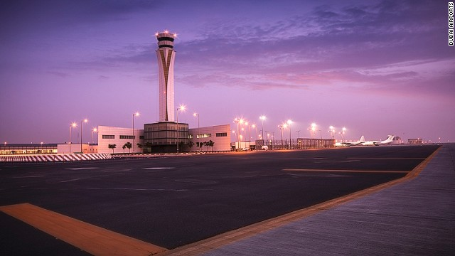 "The airport is located in Jebel Ali and is part of Dubai World Central, an ""aviation city"" the Dubai government launched as a free economic zone."