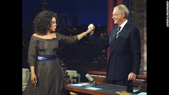 "It had been 16 years since Oprah Winfrey last set foot on ""Letterman"" when she finally returned in December 2005. The episode of course brought in monster ratings, as it appeared that the two were making up. The irony was that neither truly knew -- or at least would admit on TV -- what caused their supposed ""feud,"" or if there was ever a tiff in the first place."