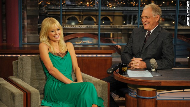 "Paris Hilton braved seeing Letterman again in 2008 even after he upset her during her 2007 interview. The late night host grilled her about her jail time to the point that she said she was ""sad"" she'd even come on the show. The following year, Letterman acknowledged how tough he'd been on the celebutante and made nice."