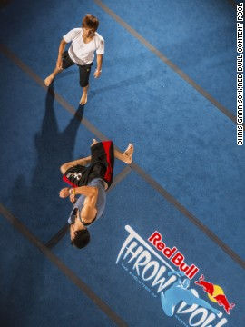 """Watching a trick battle is like watching fireworks,"" says the Throwdown's Sport Organizer Rory Bratter. ""... The things they're doing are so explosive and powerful."""