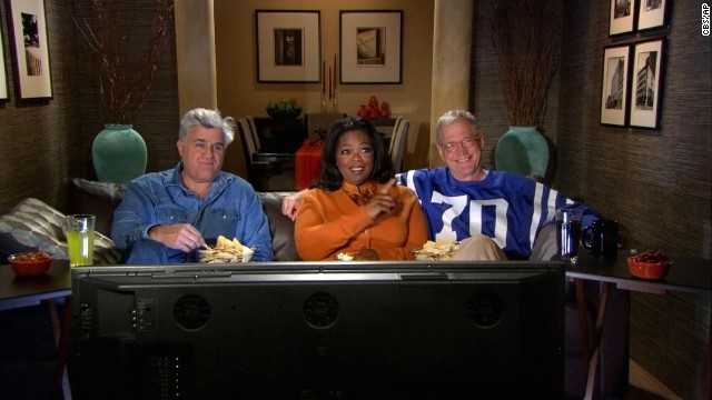 "Letterman isn't above poking some friendly fun at his rival, Jay Leno, and in the disastrous NBC late night wars of 2010, Letterman kicked it up a notch. But, we assume, it was all in good fun -- Letterman still joined Oprah Winfrey and Leno in a ""Late Show"" promo during the Super Bowl that year, an ad that was said to be Letterman's idea."