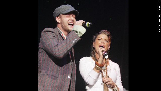 Before Britney Spears, Cameron Diaz and Jessica Biel, Justin Timberlake was attached to another star: <a href='http://www.cosmopolitan.com/celebrity/exclusive/Fergie-Gets-It-Started-3' target='_blank'>Fergie pre-Black Eyed Peas. </a>