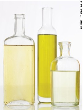 Oils will stay fresh for two months in the pantry.