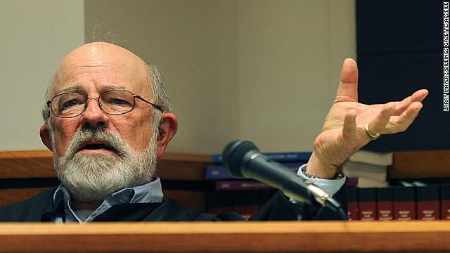Judge G. Todd Baugh Montana