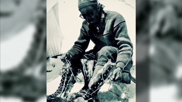 An historic peak in the Vibram story was reached in July 1954 when an Italian expedition led by Ardito Desio (equipped with the company's soles) became the first reach the summit of the world's second highest mountain K2 in Pakistan.