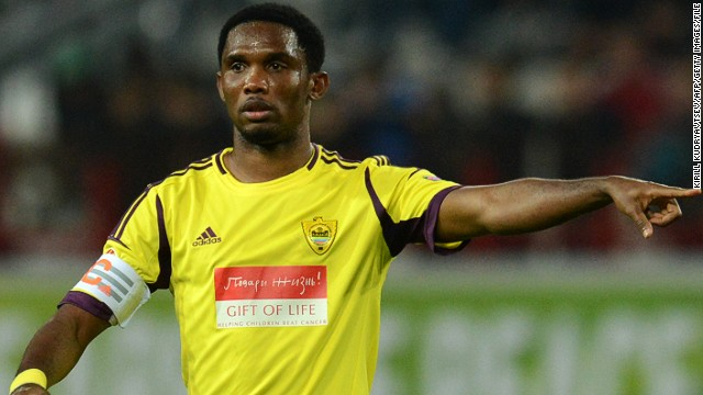 Cameroon striker Samuel Eto'o will be reunited with former manager Jose Mourinho at Chelsea.