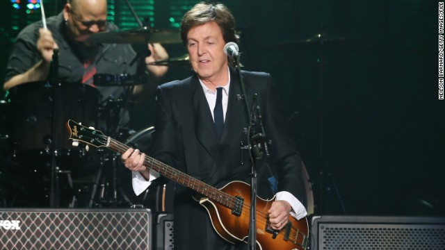 'New' music from Paul McCartney: Take a listen