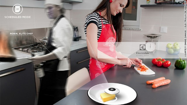 Fancy yourself a bit of a wizz in the kitchen? Soon you could be putting your skills to the test with Global Chef, a kitchen appliance concept that brings elite holographic chefs direct to your kitchen.