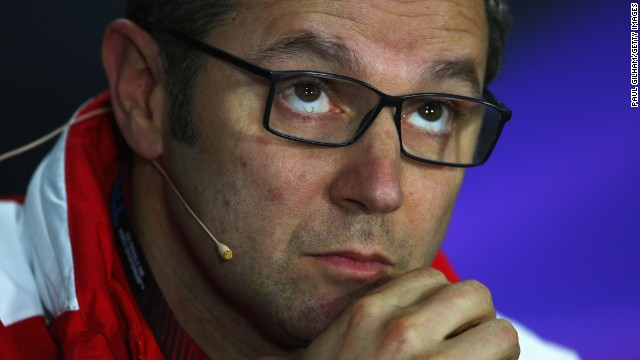 Stefano Domenicali has been team principal at Ferrari since 2008.