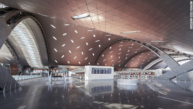 When completed, Hamad International will be 2/3 the size of the city of Doha and will be able to accommodate 50 million yearly passengers (it currently served 18 million).