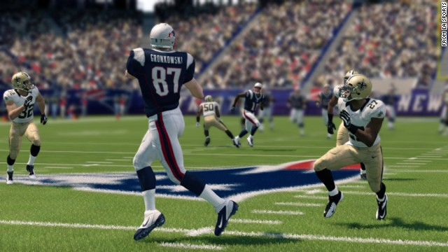 "Gronk alert! Although some believe he's been surpassed on the field by the Saints' Jimmy Graham, ""Madden"" ranks the Patriots' hulking <strong>Rob Gronkowski</strong> as the game's top tight end."