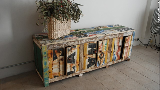 Its creations include quirky chairs and coffee tables as well as unique chests and cabinets.