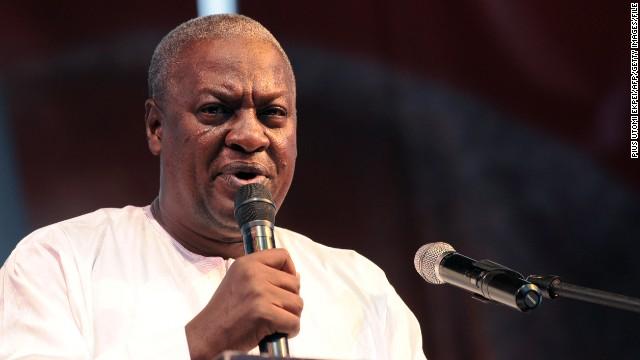 Ghana's Supreme Court declared President John Dramani Mahama (pictured)