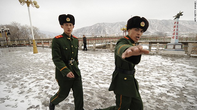 A report claims North Korea has a drug epidemic since China stepped up security on its border