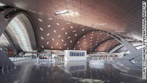 Doha\'s new Hamad International Airport is set to soft-launch later this year. It covers an area equivalent to two-thirds the size of the city.